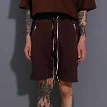 [BruJ Surtr]Pocket Zip Short - Choco