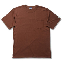 Basic Pocket Box Tee 20s Single With Dublin x L.A.L - Brown