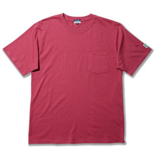 Basic Pocket Box Tee 20s Single With Dublin x L.A.L - Off Pink