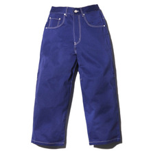 French Work Fatigue Pants With Dublin x L.A.L - Indigo Blue