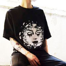 Face Short Tee - Black