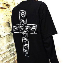 Cross Short Tee - Black
