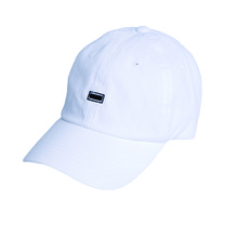 [Black Hoody]Small Logo Soft Cap - White