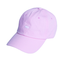 [Black Hoody]Small Logo Soft Cap - Pink