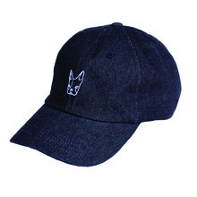 [Black Hoody]Buggy Denim Cap - Black