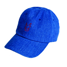 [Black Hoody]Buggy Denim Cap - Blue