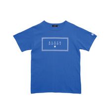 [Black Hoody]Basic Logo T-Shirt - Blue