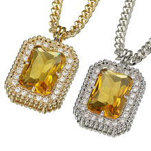 Emerald Cut - Yellow