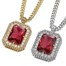 Emerald Cut - Ruby