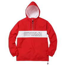 Nylon Ripstop Pullover - Red
