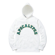 Apocalypse hooded Sweatshirt - White