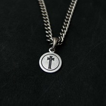 [Blessed Bullet]Classic Chain Coin Necklace
