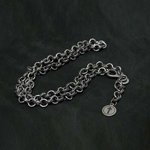 [Blessed Bullet]Smoke S Ring Chain Necklace
