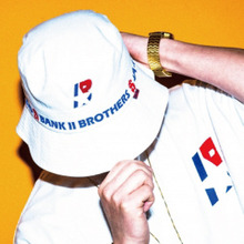 [Bank2Brothers]Bucket Hat - White