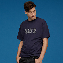 [Silers X Union Objet] Hate Tee - Navy