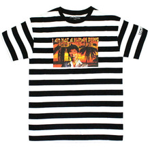 The World is Mine SIVAL Stripe T-Shirts - White/Black