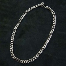 [Blessed Bullet]Smoke Classic Chain Necklace