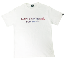 [Genuine Heart]Galaxy Logo Tee - White