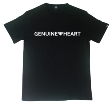 [Genuine Heart]Gt Heart Logo Tee - Black