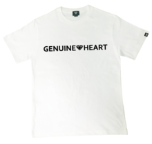 [Genuine Heart]Gt Heart Logo Tee - White