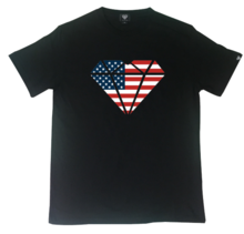[Genuine Heart]USA Heart Logo Tee - Black