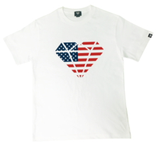 [Genuine Heart]USA Heart Logo Tee - White