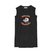 [LUP]Roller Skating Onepiece - Black