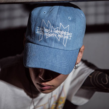 [I am Not a Human Being X NYPM] Logo Ball Cap - Series Denim