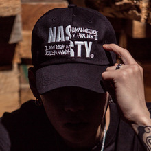 [I am Not a Human Being X NYPM] Logo Ball Cap - Series Black