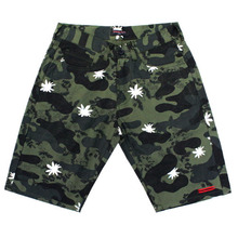 [MGK X Nameout] Camoflower Shorts - Green