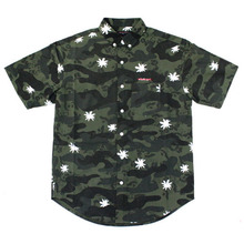 [MGK X Nameout] Camoflower Shirts - Green