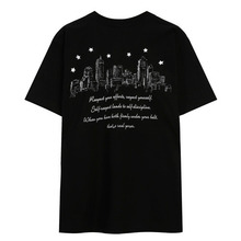 [THEDOSI] (20%세일) (남여공용) Basic City Logo T-Shirt - Black