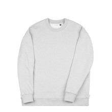 [Piece Worker]Heavy sweat shirt side zipper - Melange