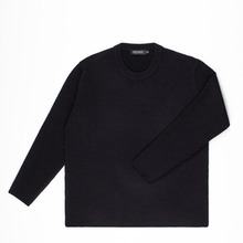 [Piece Worker]Premium wool knit - Black