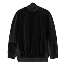 [Piece Worker]Velvet Raglan Sleeve Shirt