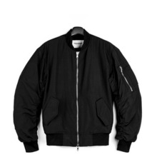 [Piece Worker]Shirring MA-1 - Black