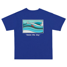[Feel Enuff] Seize The Day Short Tee - Blue