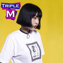 [M.M.M] Frame Short Tee - 2 Color