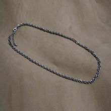 [Blessed Bullet](SILVER)7mm O chain necklace