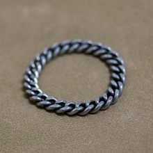 [Blessed Bullet](SILVER)3.5mm classic chain ring
