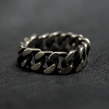 [Blessed Bullet](SV925)8mm classic chain ring