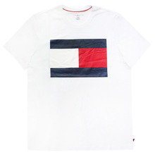 [Tommy Hilfiger] Box Logo Short Tee - White