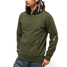 [Bape] Shark Full Zip Hoodie - Green
