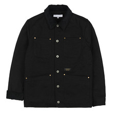 [LOKWARD] HEAVY HUNTING JACKET - DEEP BLACK