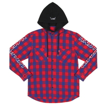 [Nasty Palm] Nastypalm Hoodie Shirts - Red