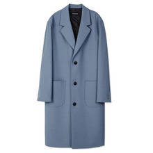 [Andersson Bell] UNISEX SANTOS OVERSIZED COAT awa056 - Blue