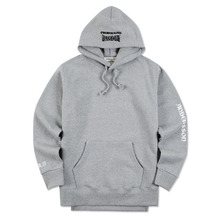 [Andersson Bell] UNISEX UNBALANCE YOUTH HOODIE atb098 - Gray