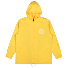 [Nasty Palm] Noise Hoodie Coach Jacket - Yellow
