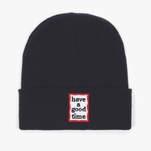 [Have a good time] Frame Beanie - Navy