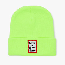 [Have a good time] Frame Beanie - Neon